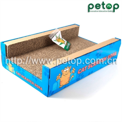 PT1004 Wolesale Corrugated Cardboard Cat Scratcher