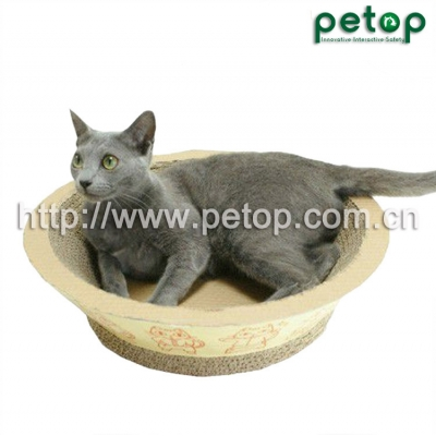 PT1009 Recycled paper Corrugated cat scratcher lounge Cat Bed