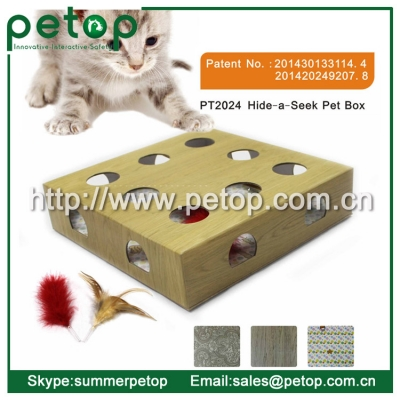 Hide a Seek Pet Cat Box Toys