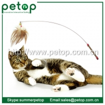 Luxury Interactive Feather Wand Cat Toys